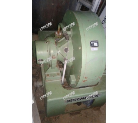 Schenck W400 water cooled eddy current brake - used
