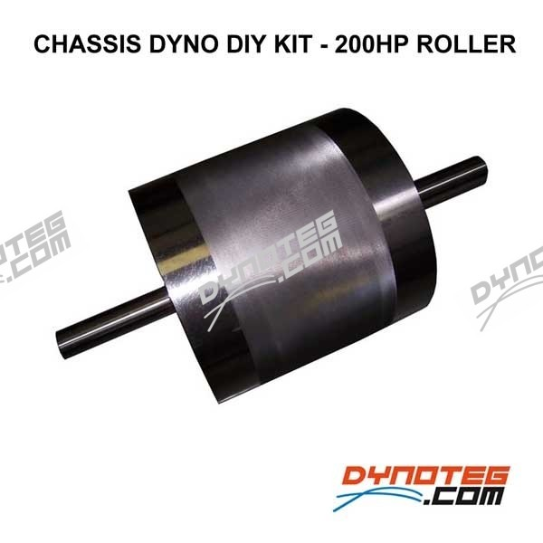 Chassis dynamometer Dynoteg Do It Yourself Kit motorcycle upto 200 HP