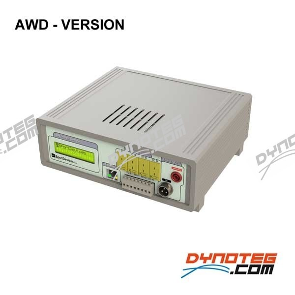 Electronics & software kit sportdevices SP5 AWD for chassis dyno