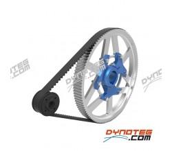tooth belt set kart engine dyno iame x30 vortex rotax max