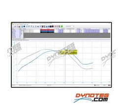 Sportdevices dyno electronics Sportdyno software power curve