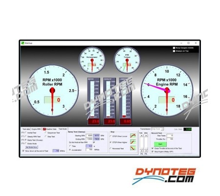sportdevices chassis dyno electronics sportdyno software dashboard