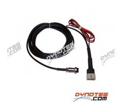Connection cable wideband Lambda controller 12VDC + analog output Sportdevices SPx
