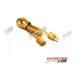Extension cable thermocouple Dynoteg chassis dyno and Sportdevices SPx