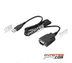 Dynoteg USB naar RS232 adapter Sportdevices testbank elektonica
