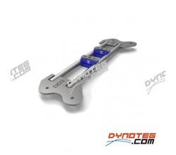 Motormontagesteun testbank kit DD2 32 mm kartmotor testbank Dynoteg