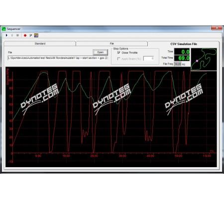 Dynoteg CSV file converter software