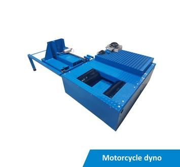 Motorcycle dynamometer