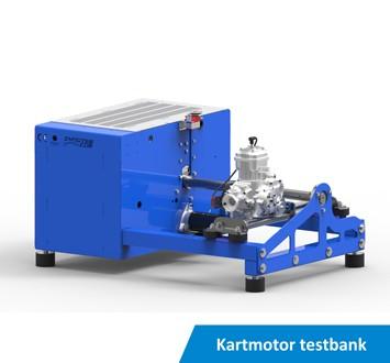 Kartmotor testbank KED