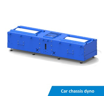 Car chassis dyno